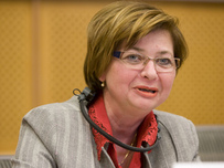 Slovenian Minister of Labour, Family and Social Affairs Marjeta Cotman