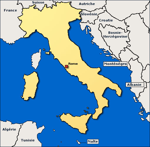 Image Map, Italie
