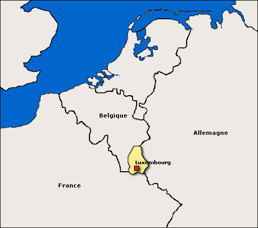 Image Map, Luxembourg