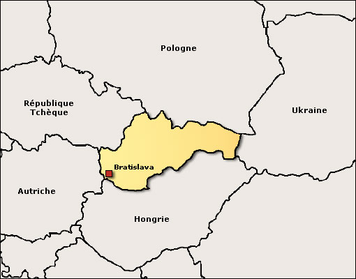 Image Map, Slovaquie
