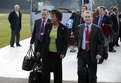 Arrival of Patricia Scotland, Attorney General for England and Wales