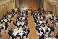 Gala dinner in the Union Hall, Grand Hotel Union