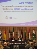 Opening of the IDABC conference