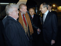 Meeting between the Slovenian Minister of Foreign Affairs, Dimitrij Rupel, and the Foreign Minister of the Russian Federation, Sergei Lavrov at Jože Pučnik Airport Ljubljana (12 February 2008)