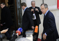 Arrival of Russian Minister of Foreign Affairs Sergey Lavrov