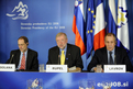 Press Conference (Brdo Castle): Javier Solana, Dimitrij Rupel and Sergey Lavrov