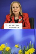 EU Commissioner for External Relations and European Neighbourhood Policy Benita Ferrero-Waldner