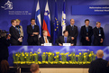 Signing of the agreement on cooperation between  the Finnish and Slovenian ministries