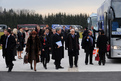 Arrival of Ministers of Justice at Brdo Congress Centre