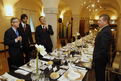 Working lunch for Ministers / Heads of delegations of the EU Member States in Zois restaurant