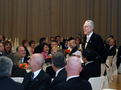 A toast of the Minister of Justice Lovro Šturm during dinner in Grand hotel Union