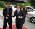 Arrival of Brazilian Minister of External Relations Celso Amorim