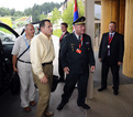 Arrival of the Minister of Defence of BiH Selmo Cikotić