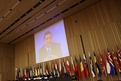 Video conference of the president of European Commission Jose Manuel Barroso
