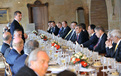 Working lunch for the ministers (Brdo Castle)