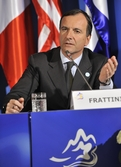 European commissioner responsible for justice, freedom and security Franco Frattini