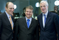 Czech Minister of Agriculture Petr Gandalovič, Slovenian Minister of Agriculture, Forestry and Food Iztok Jarc and French Minister of Agriculture and Fisheries Michel Barnier