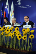 Presidency press conference: commissioner Jacques Barrot and minister Radovan Žerjav