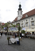 The Ministers spent the Sunday Afternoon in Maribor City Centre at the Presentation of the Slovenian Country Side
