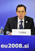 Slovenian minister without portfolio, responsible for development and growth Žiga Turk