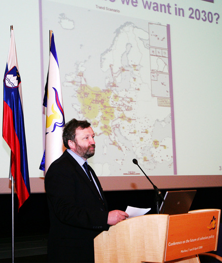 Ivan Žagar, Slovenian Minister responsible for Local Self-Government and Regional Policy
